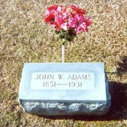 John Winans Bud Adams