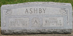 Mary Mollie <i>Tout</i> Ashby