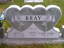 Janice Sue Jan <i>Brooks</i> Bray
