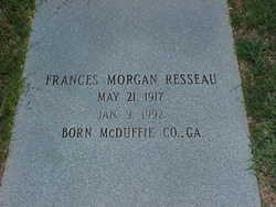 Frances <i>Morgan</i> Resseau