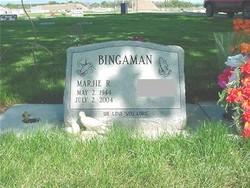 Marjie Ruth <i>Hanson</i> Bingaman