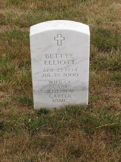 Bettye Jayne <i>Elliott</i> Carter