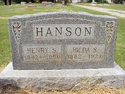 Hilda Sophia <i>Peterson</i> Hanson