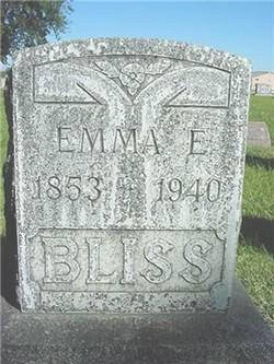 Emma Elizabeth <i>Hunter</i> Bliss