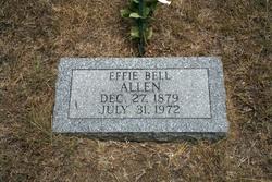 Effie Isabelle <i>McDaniel</i> Allen