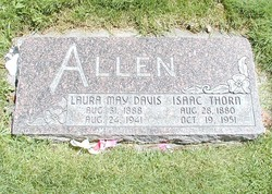 Laura May <i>Davis</i> Allen