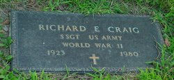 Sgt Richard E. Craig