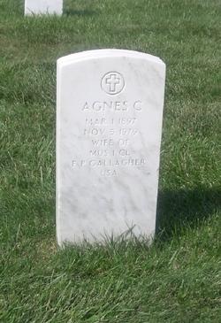 Agnes C Gallagher