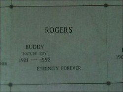 Buddy Nature Boy Rogers