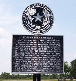 Lost Creek Cemetery
