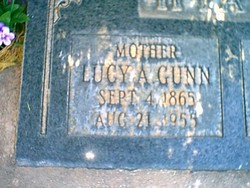 Lucy Albena <i>Gunn</i> Hyatt
