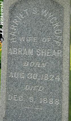 Harriet S. <i>Wyckoff</i> Shear