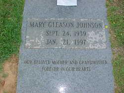 Mary Elizabeth <i>Gleason</i> Johnson