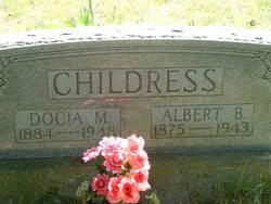 Docia Margaret <i>McElwain</i> Childress