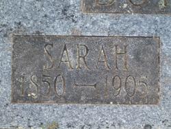 Sarah EmelineOR Eliabeth <i>Cradduck</i> Dotson