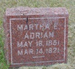 Martha Ellen <i>Jones</i> Adrian