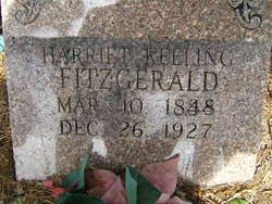 Harriet <i>Keeling</i> Fitzgerald