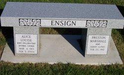 Preston Ensign