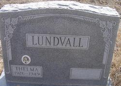 Thelma <i>Pettibone</i> Lundvall