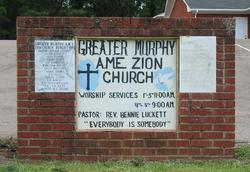 Greater Murphy AME Zion Church Cemetery