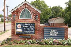 Six Mile Baptist Church Cemetery