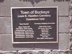 Louis B Hazelton Memorial Cemetery