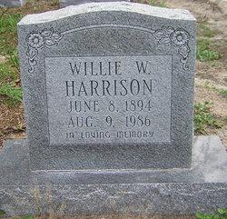 Willie W <i>Layton</i> Harrison