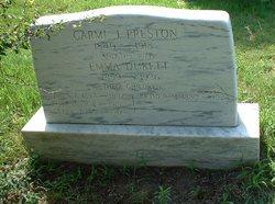 Emma <i>Dukett</i> Preston