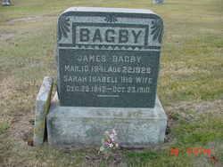 Sarah Isabell <i>Zimmer</i> Bagby