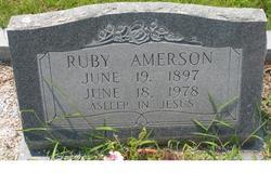 Ruby <i>Warren</i> Amerson