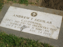 Andrew F Aguilar