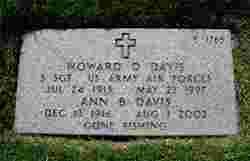 Howard D Davis