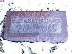 Elizabeth Jane <i>Berry</i> Hubbs