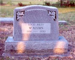 Louis Riley McAlvain