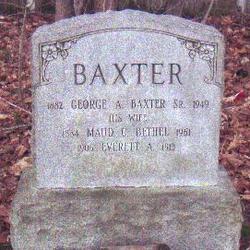 George A Baxter, Sr