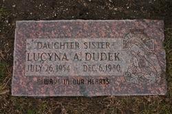 Lucyna A Lucy Dudek