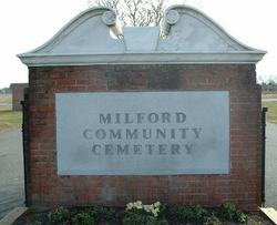 Milford Community Cemetery New