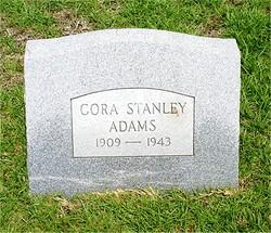 Cora Vaden <i>Stanley</i> Adams