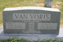 Julia Camilla <i>Hays</i> Van Voris