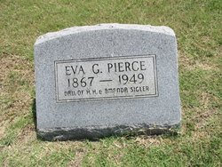 Eva G. <i>Sigler</i> Pierce