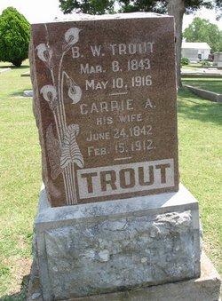 Pvt Burton William Trout