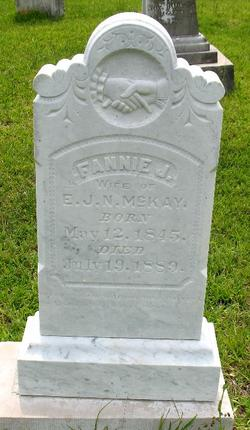 Frances Jane Fannie <i>Blow</i> McKay