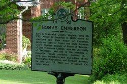 Thomas Emmerson