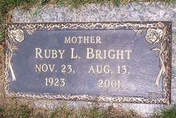 Ruby Lee <i>Taylor</i> Bright