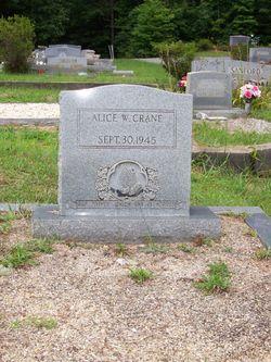 Alice Rebekah <i>Watkins</i> Crane