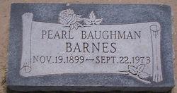 Pearl <i>Baughman</i> Barnes