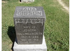 Cora Ada <i>Gibson</i> Hollingsworth
