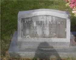 Harry Rufus Mallory