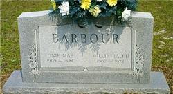Willie Ralph Barbour