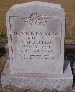Maxie E. <i>Douglas</i> Bolden